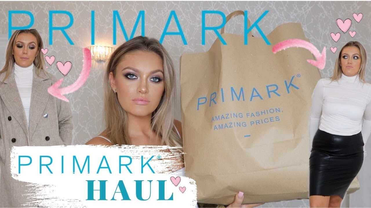 [VIDEO] - HUGE *NEW IN* PRIMARK TRY ON AUTUMN/ WINTER HAUL!!!! 6