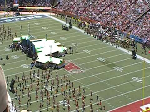 NFL Pro Bowl 2009 - Beginning of Halftime Show