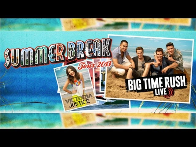 ¡Victoria Justice y Big Time Rush JUNTOS! Videos De Viajes