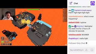 Markiplier Play ROBLOX ! live in TWITCH 2019