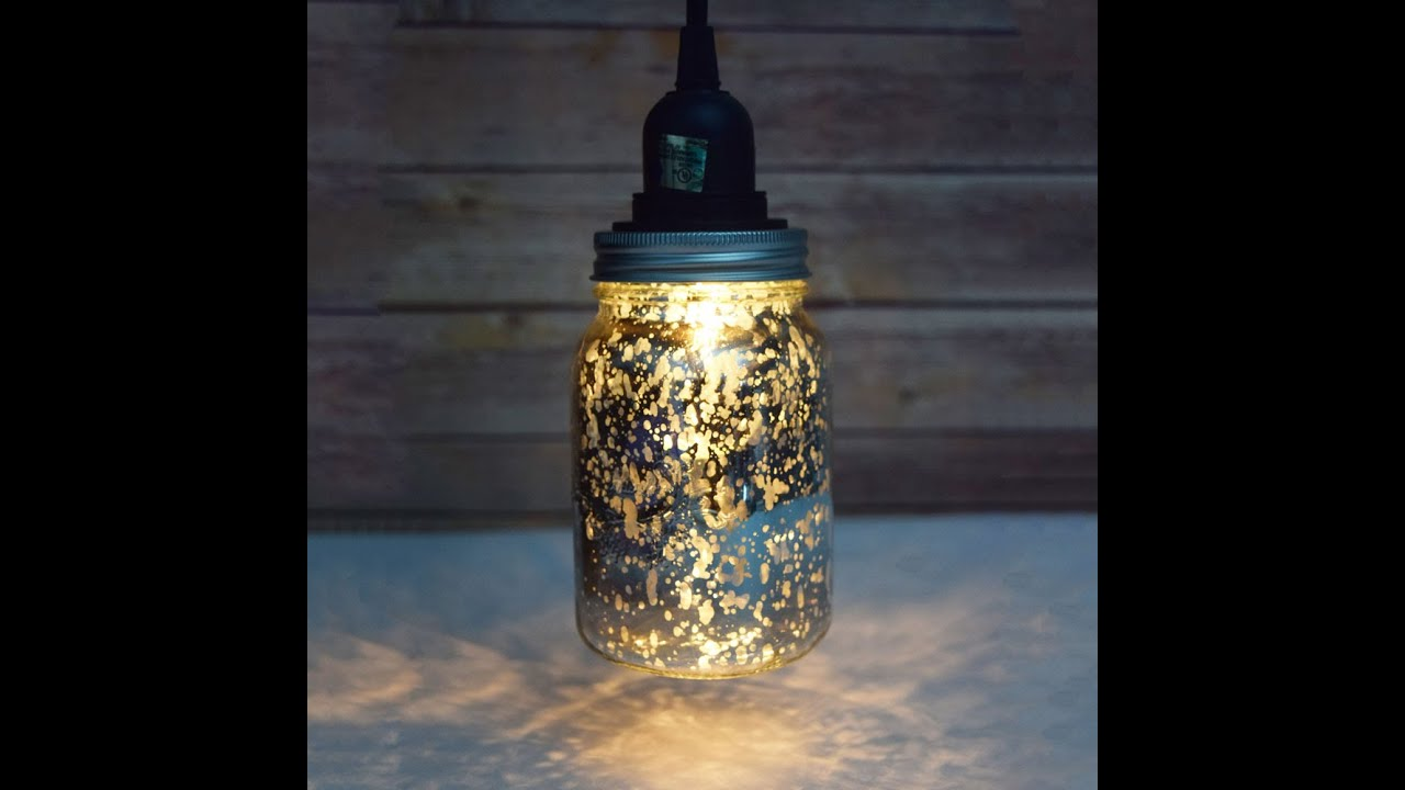 - DIY Mason Jar Pendant Light Kit - YouTube