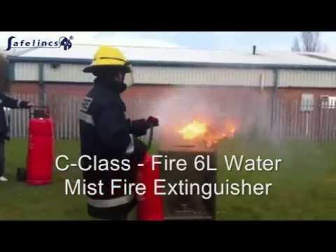 Comparison of E-Series Water Mist Fire Extinguisher with Traditional Fire Extinguishers