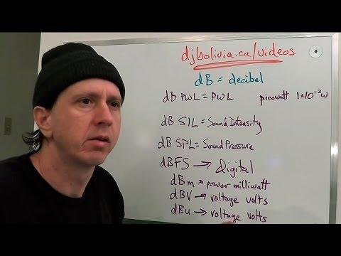 Audio Recording tutorial #08 with Jonathan Clark - Understanding Decibels
