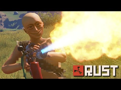 BURNING down a server with a TOXIC KID! | Rust