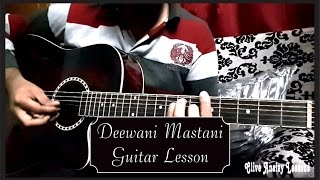 Download Hindi Video Songs - Deewani Mastani Guitar Lesson