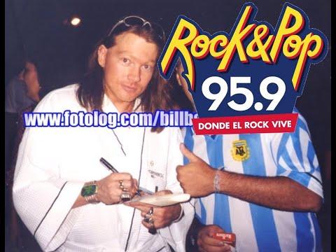 Axl Rose entrevista en Day Tripper Argentina 2001