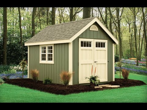 Outdoor Shed And Woodworking Plans