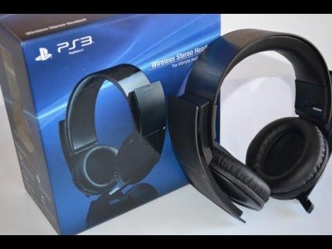 Sony playstation 3 wireless 7. 1 stereo headset | souq uae.