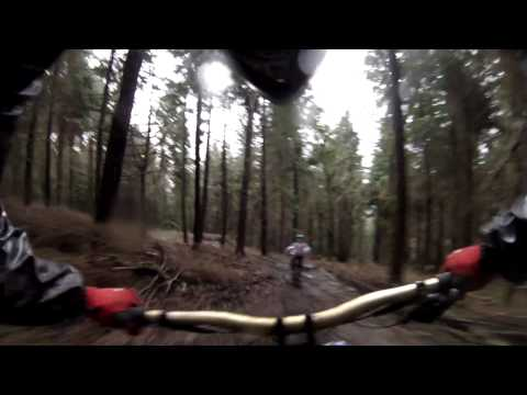 MBUK's Jake Ireland follows Katy Curd at Forest of Dean DH GoPro