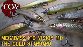The Gold Standard: MegaBass Ito Vision 110 Jerk Bait - OOW Outdoors