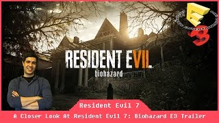 Resident Evil 7: Biohazard Gameplay Trailer [E3 2016] [Reacts]