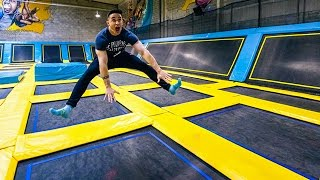 LE TRAMPOLINE PARK LE PLUS FUN !!