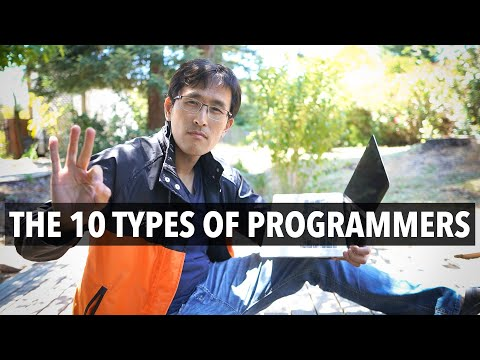 The 10 Types of Programmers you'll encounter.