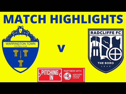 Warrington Radcliffe Goals And Highlights