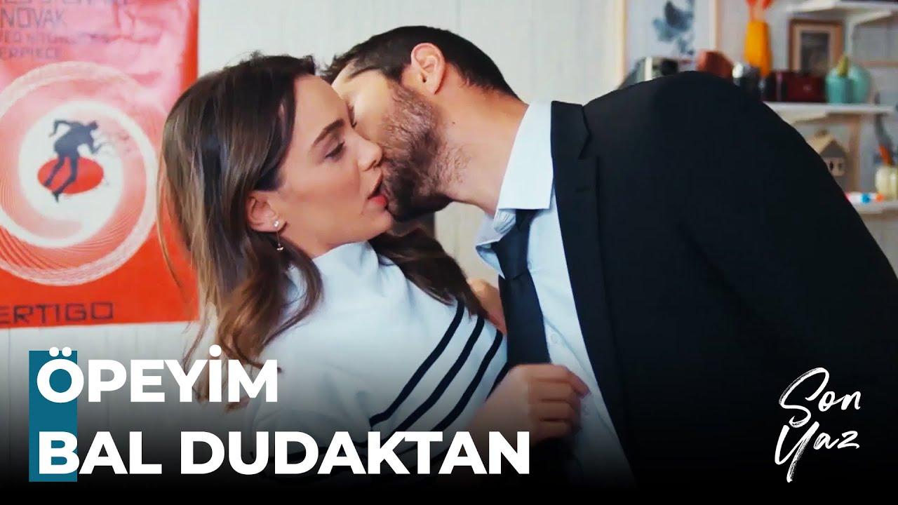 Download Yağmur'dan, Akgün'e Cesaret Öpücüğü - Son Yaz 14. Bölüm