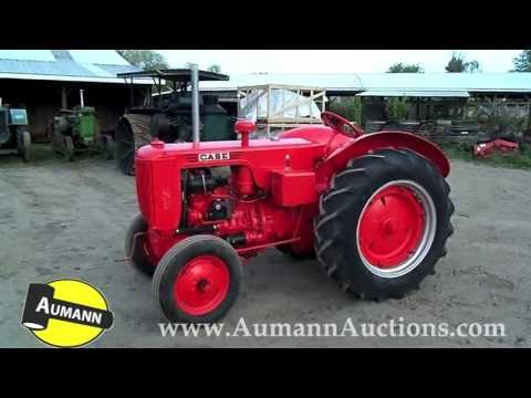 Case Model R Tractor - Aumann Auctions - Online Only Antique Tractor Consignment Auction