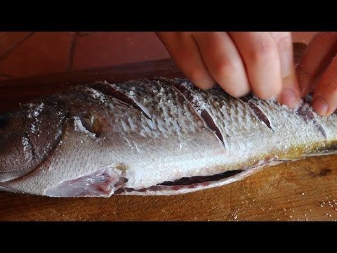 How To Clean And Salt A Fish