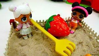 ЛОЛ сажают огород. Куклы Лол - Мультики для девочек