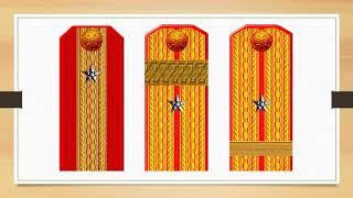 Знаки различия армии и флота Российской империи