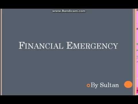 UPSC Polity Financial Emergency
