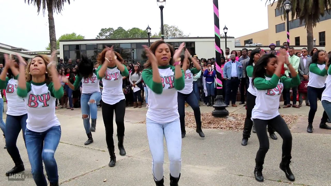 Beta Psi Chapter Of Alpha Kappa Alpha Yard Show Spring