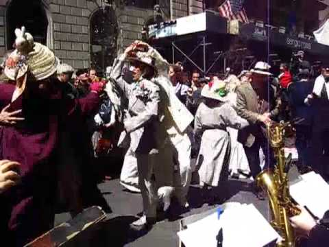 New York City Easter Parade 2009 - Swing Dancing - Michael Arenella & His Dreamland Orchestra