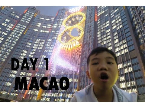 Travel Macau with Adam (Welcome to the Parisian Hotel and See View at Golden Reel)