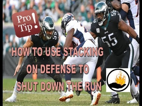 MADDEN PRO TIPS  - SHUT DOWN THE RUN WITH DEFENSIVE STACKING