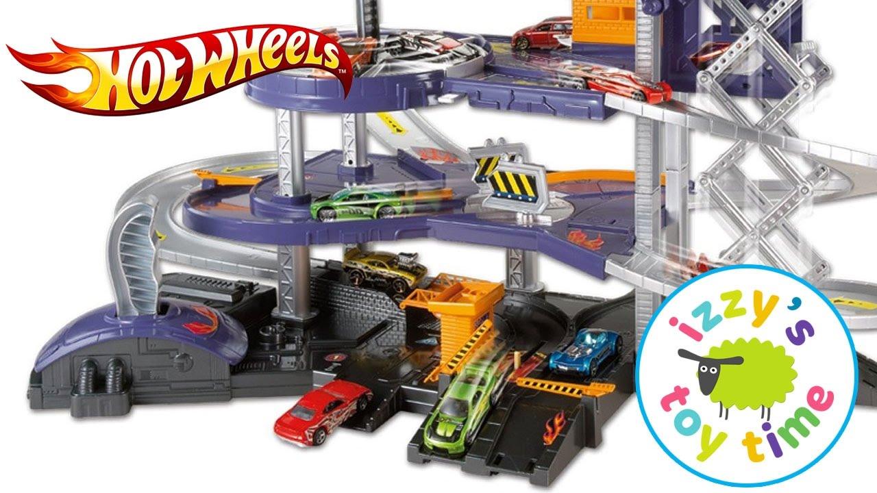 Mattel hot wheels mega garage hot wheels fast lane cars for Garage fast auto sarcelles