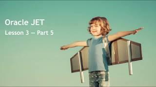 Oracle JET - Lesson 3 - Part 5: Security