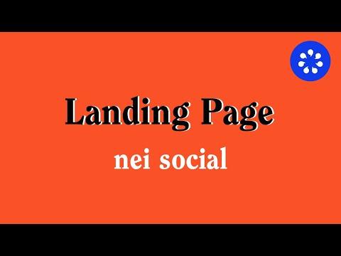 Come Condividere Correttamente Una Landing Page Nei Social
