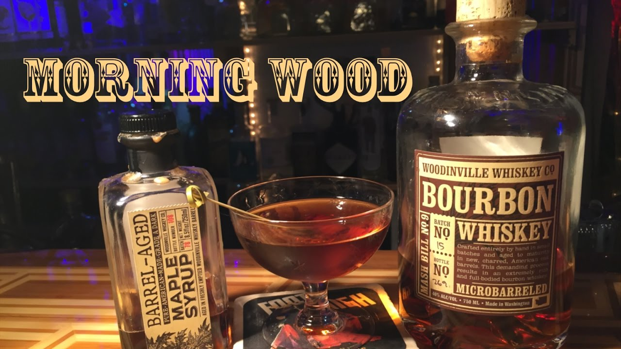 morning wood bourbon maple bacon martini youtube