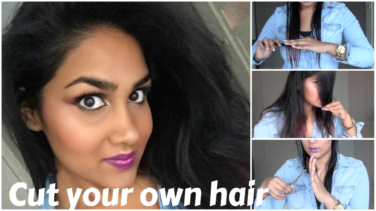 Style Your Own Hair: How To: Cut Your Own Hair In Layers/Haar In Lagen Knippen