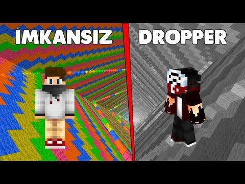 İMKANSIZ DROPPER HARİTASI - Minecraft