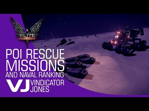 Elite Dangerous   POI Rescue Missions and Naval Ranking