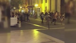 'Many dead' as lorry hits crowd in Nice, France