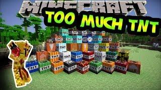 [FR]-Too much TNT : Présentation de mods-[Minecraft 1.6.4]