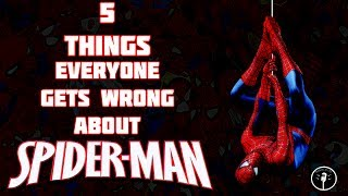 5 Things Everyone Gets Wrong About Spider-Man