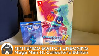 [Unboxing] Mega Man 11 Collector's Edition - Nintendo Switch