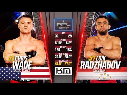 Loik Radzhabov vs Chris Wade Full Fight | 2019 PFL Playoffs