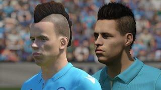 FIFA 15 vs PES 2015 Head to Head Faces - Napoli