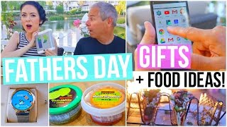 Fathers Day Gifts + Food Ideas!