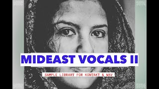 MIDEAST VOCALS II | FOR KONTAKT & WAV | RAST SOUND