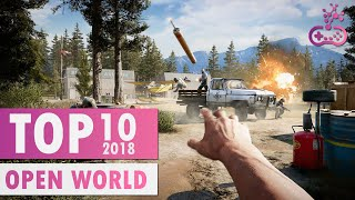 TOP 10 EPIC Open World Games of 2018 |  PS4/XB1/PC