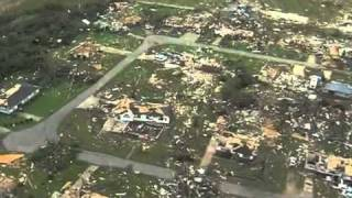 April 27 2011 Tuscaloosa Alabama Tornado Damage Aerial View thumbnail