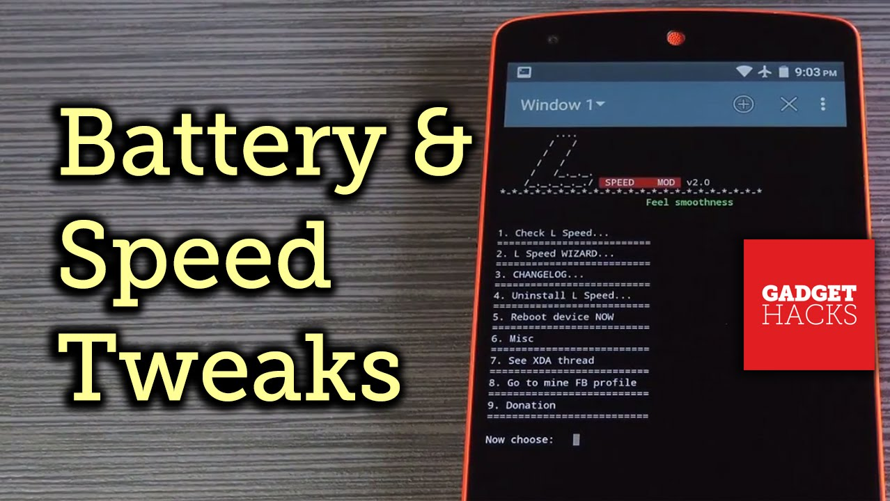 How to Boost Performance & Battery Life on Your Rooted Android