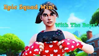 Epic Squad Win With The Boys!