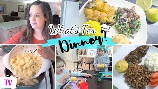 WHAT'S FOR DINNER? | BUDGET FRIENDLY FAMILY MEALS