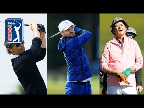 Best celebrity golf shots on the PGA TOUR