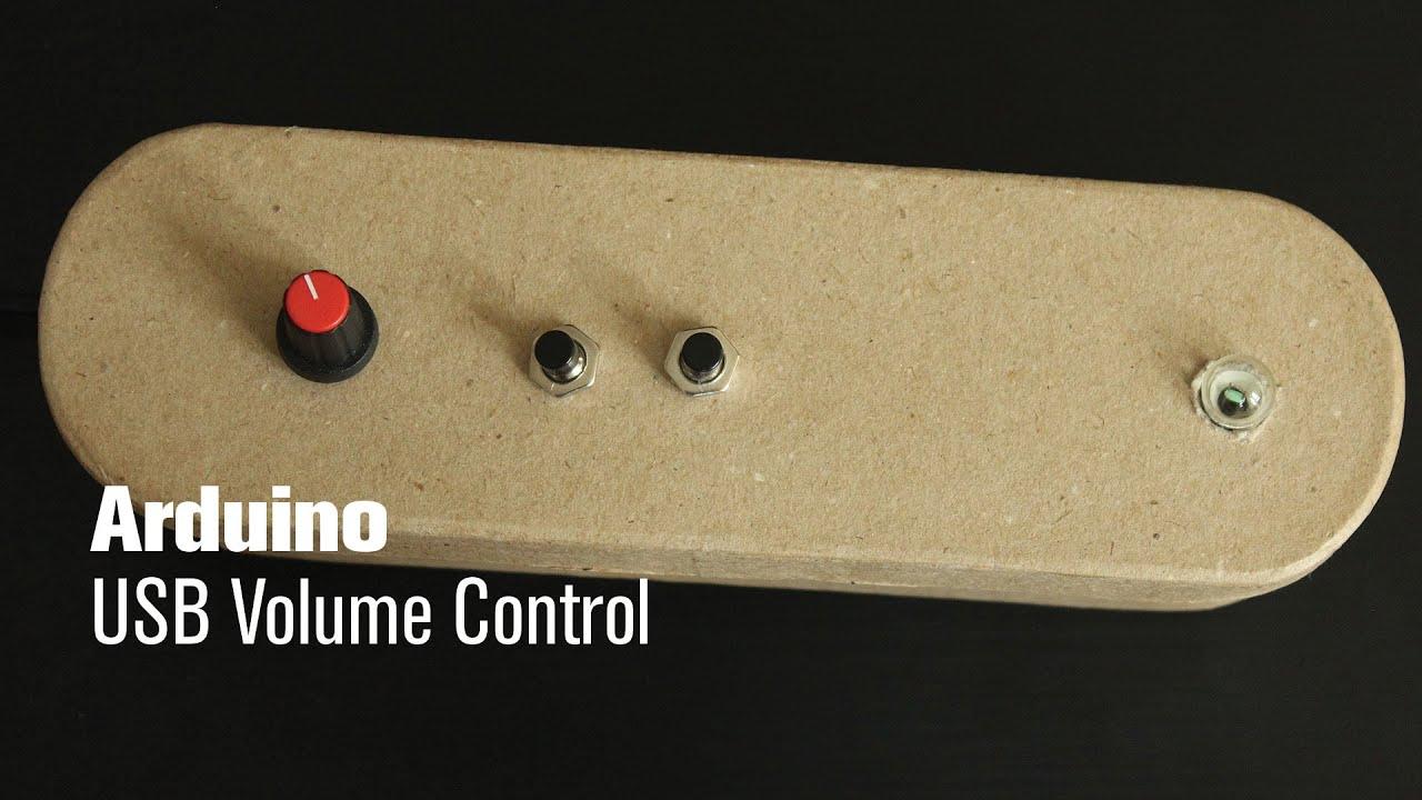 Arduino Usb Volume Control Youtube